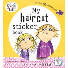 Charlie And Lola My Haircut Sticker Book Zoom