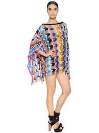 missoni handmade cashmere u0026 wool knit dress multicolor mzcymw2