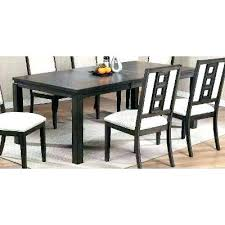 Dining Room Tables Black Table Sets Contemporary Modern Wood Furniture