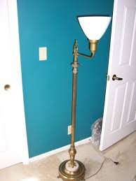 Stiffel Brass Lamp Value by Antique Brass And Marble Base Floor Lamp And 50 Similar Items
