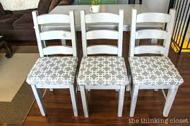 Dining Room Seat Cushion How To Reupholster A Chair The No Mess Method Thinking