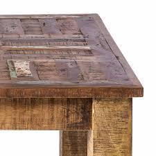 90x90 cm vintage esstisch in braun bahiro