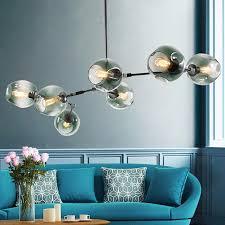 großhandel glas led dekorative kronleuchter pendel leuchte e27 edison wolfram pendel leuchte restaurant wohnzimmer buy led chandelier chandelier