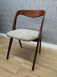 vintage sprossen stuhl 70er jahre design mid century