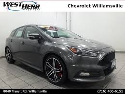 100 West Herr Used Trucks 2015 Ford Focus ST For Sale At Lincoln VIN
