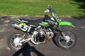 2010 Kawasaki KLX140L Monster Energy 2
