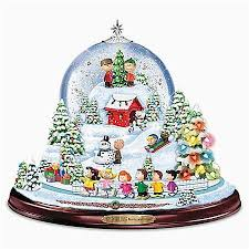 Snoopy Christmas Ornaments New Design Peanuts Snowglobe With Lights Music And Motion Top Search