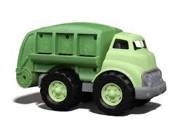 100 Model Toy Trucks Recycling Truck Green S