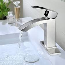 Bathtub Water Stopper Stuck by Purelux Gibbon Contemporary Design One Handle Bathroom Sink Faucet