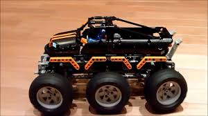 100 Lego Technic Monster Truck LEGO 6x6 AliExpress YouTube
