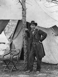 This Photograph Shows Ulysses S Grant At His Cold Harbor Headquarters On June 11 Or
