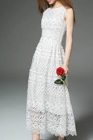 ciilii white white sleeveless lace maxi dress maxi dresses at dezzal