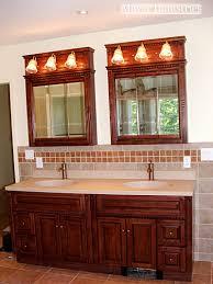 Double Vanity Bathroom Mirror Ideas by Bathroom Double Vanity Lighting Interior Design