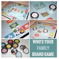 This Homemade Game Is Basically A Combination Of Monopoly Sorry And Trivial Pursuit She Got The Idea From Tutorial On Family Fun