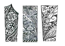 Forearm Polynesian Tattoo Design Indian Elements By Thehoundofulster