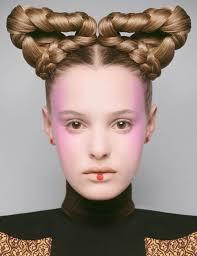 Futuristic Hair Editorials Braided Hairstyle