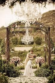 Wedding Ceremony Arch Decoration Rustic Meets Modern
