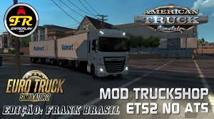 MOD TRUCK SHOP ETS2 IN ATS V1.0 - American Truck Simulator Mod ... Kenworth T908 Adapted Ats Mod American Truck Simulator Mods Euro 2 Mega Store Mod 18 Part I Scania Youtube Lvo Fh Euro 5 121 Reworked V50 Bcd Scania Race Pack Ets Mod For European Shop Volvo 30 Walmart Skin Vnl Truck Shop Other V 20 Mods American Trailers 121x For V13 Only 127 Mplates Ets2 Russian Ets2downloads