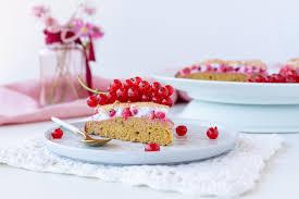 low carb ribiselkuchen mit schneehaube