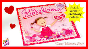 PINKALICIOUS PINK OF HEARTS WEEK 2 GIVEAWAY