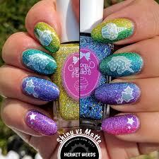 Rainbow Holo Glitter Unicorn