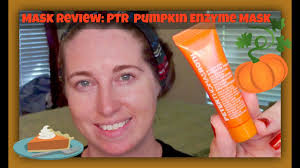 Pumpkin Enzyme Mask by Peter Thomas Roth Pumpkin Enzyme Mask Demo Review Youtube