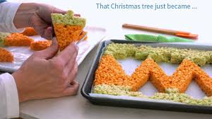 Rice Krispie Christmas Trees Recipe by Rice Krispies Treat Hack Cookie Cutters Shapes Youtube