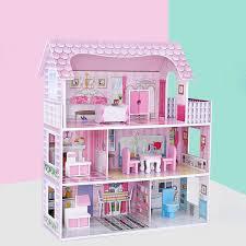 DIY 3D Doll House Furniture Kits Set DIY Miniature Model Wooden