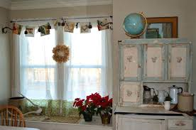 Decorative Curtain Ideas Matching Kitchen Dining Room Curtains Rustic