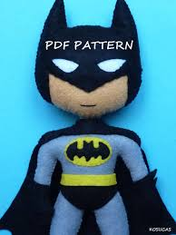 Batman Un Long Halloween Pdf by Pdf Pattern To Make A Felt Batman Batman Felting And Pdf