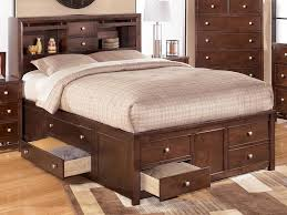 Full Size Bed with Storage Plans — Modern Storage Twin Bed Design