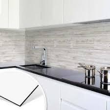 details zu küchenrückwand alu dibond shabby chic holz panorama spritzschutz küche