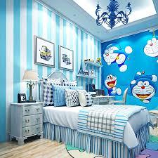 moderne blau weiß gestreiften tapeten rosa prinzessin kinder zimmer warm mädchen zimmer schlafzimmer vliestapete gesunde ungiftig