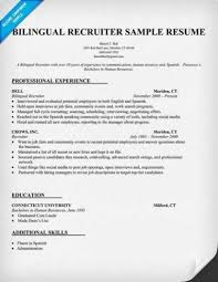 Bilingual Receptionist Resume Example Indeed Search Download Image