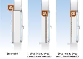 coffre demi linteau terreal caisson volet roulant linteaux tableau isolant thermique