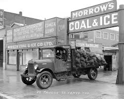 100 Coal Trucks 15 To Serve You Morrows And Ice Company At 1025