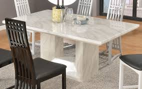 Kitchen Table Top Decorating Ideas by Marvelous Design White Marble Top Dining Table Unusual Inspiration
