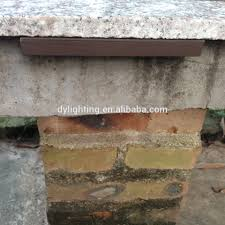 cap retaining wall landscape light kits led stair foot light