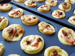 mini quiche pate feuilletee mini quiches tomates séchées lardons tupperware et moi hélène