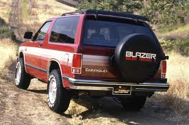 100 Blazer Truck Chevrolet Photos And History From Based SUV To Car