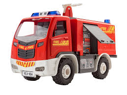 100 Black Fire Truck Revell