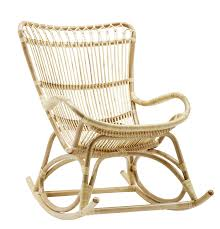 Azima Rocking Chair, Natural In 2019 | Rattan Rocking Chair ...