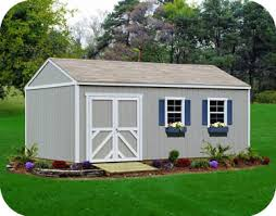 handy home columbia 12x24 wood storage shed kit with optional