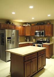 recessed lights in kitchen kitchen design