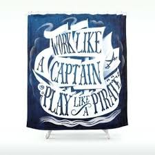 pirate shower curtain for kids bathroom – Small Home Ideas
