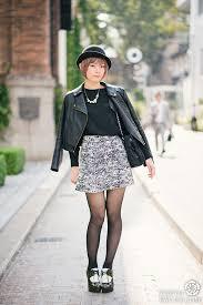 Japanese Fashion Photo Of A Girl In Harajuku Tokyo