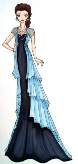 Fashion Design Sketches Evening Gowns