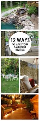12 Ways To Make Your Yard More Inviting | Yards, Gardens And Backyard Full Image For Mesmerizing Simple Backyard Garden Ideas Related Best 25 Garden Design Ideas On Pinterest Gardening In Zone 6 Tips Diy Design Decor Gallery Stacked Herb 12 Ways To Make Your Yard More Inviting Yards Gardens And Vegetable Gardening With Potted Dish 3443 Best Images Decorating Easy Diy Projects Backyards Trendy 44 Chic Flower For Beginners Six Home Decorations Insight With U