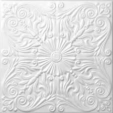 Styrofoam Glue Up Ceiling Tiles by Diy Faux Ceiling Tiles I Love The Look Of These Swirls These