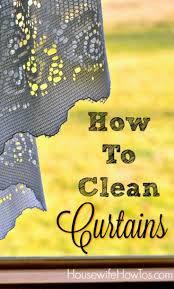 Nicole Miller Home Two Curtain Panels by How To Clean Curtains Of Any Type And When